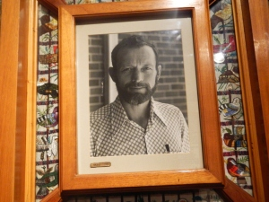 Photo of Stanley Rother in Santiago Atitlan Church
