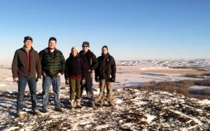 On the Buffalo Jump, Browning, MT